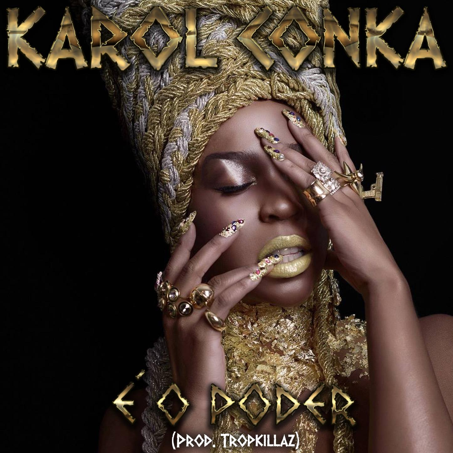 Capa - Karol Conka - É o Poder