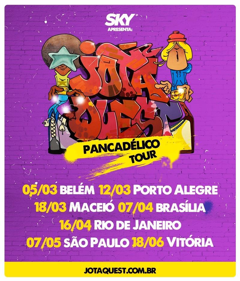jota quest - pancadelico tour 2016